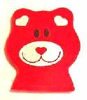 Red Teddy Bear Catnip Toy