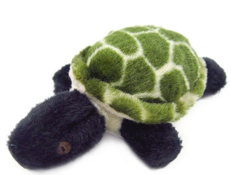 Jumbo Plush Turtle Dog Toy