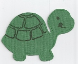 Green Turtle Catnip toy