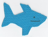 Blue Shark Catnip Toy