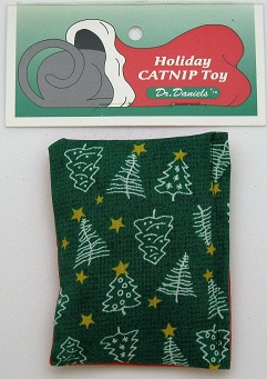 Holiday Cushion Toy-Green Background