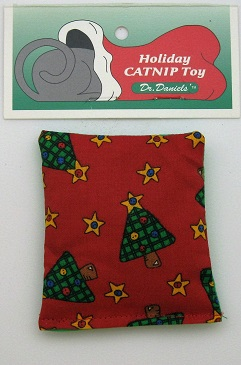 Holiday Cushion Toy-Red Background