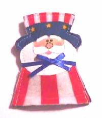 Uncle Sam Catnip Toy